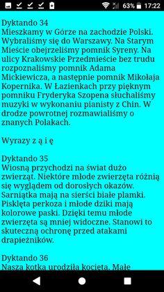 Polish Language, Periodic Table, Periodic Table Chart, Periotic Table