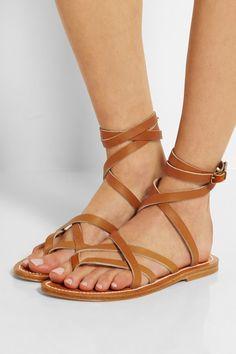 479d528cc47b K Jacques St Tropez - Zenobie leather sandals