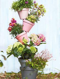 Gartendeko - Ideen für die Freiluftsaison - tummelnde-toepfe