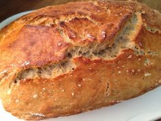 Einfach genial: Ein Brot ohne zu kneten - *no-knead-bread* die Zweite!