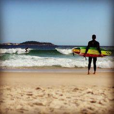 Surfing at Arpoador #RiodeJaneiro