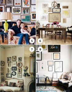 A great gallery wall can add a wonderful finishing touch to your home's décor. It's a great way to display family photos, art collections, prints, and kid's art – you name it! But what makes a great gallery wall versus a not so great gallery wall? Let's find out. First, it's all in the preparation. I'm definitely for cutting corners whenever I can, but sometimes it just pays to spend the proper time to ensure accuracy on the very first go. Here are a few tips: