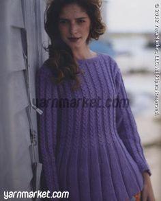 Creative linen pullover