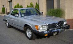 1973 Mercedes Benz silver 450 SLC