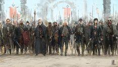 Some new concept art Fantasy Battle, High Fantasy, Fantasy Rpg, Medieval Fantasy, Fantasy World, Fantasy Concept Art, Fantasy Artwork, Fantasy Setting, Fantasy Inspiration