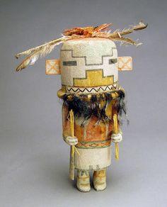 """""""Hopi Old Style Kachina Doll by Manfred Susundewa"""""""
