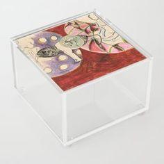 Smoragdova Tabletop | Society6 London Art, Art Day, Insta Art, Tabletop, Pop Art, Saatchi Art, Decorative Boxes, Collage, Behance