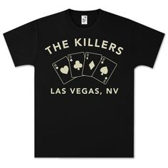 The best items of The Killers merch hand-selected by our experts. Band Merch, Band Tees, Greek Shirts, Cool Style, My Style, Graphic Tees, Mens Tops, T Shirt, Brandon Flowers