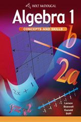 Algebra 1 concepts and skills teachers edition 9780618050529 ron algebra 1 concepts and skills fandeluxe Choice Image