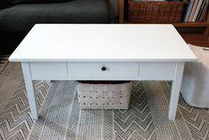 Old table makeover kaksneljaseitteman.blogspot.fi