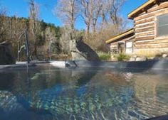In Collegiate Range, 2 cabins, up to 6 people, private soaking pools.