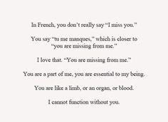 BEST LOVE QUOTES    You are missing from me…