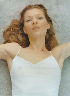 Kate Moss by Corinne Day for Vogue UK June 1993
