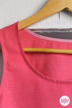 Renfrew #3     Made by Marion I Have No One, Nike Logo, Dress Making, Pretty, Fabric, Cotton, Handmade, Dresses, Tejido
