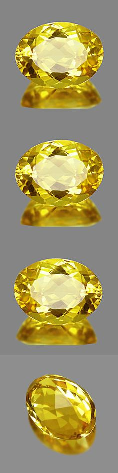 Beryl 110789: 2.28Cts Investment Grade Gem - Top Natural Heliodor Yellow Beryl Aquamarine Kq01 -> BUY IT NOW ONLY: $88.99 on eBay!
