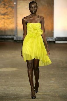 Love This!!! Christian Siriano...project runway alum...nice!