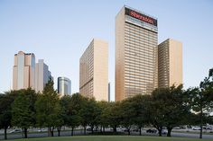 Sheraton Dallas Hotel—Exterior of the Sheraton Hotel Dallas