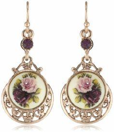 1928 Jewelry Jet Teardrop Yshape Necklace 1928 Jewelry Jewelry