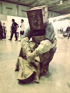 The Evil Within, The Keeper cosplay Horror Video Games, Video Games Funny, Amazing Cosplay, Best Cosplay, Halloween Cosplay, Cosplay Costumes, The Evil Within Ruvik, Creepy Games, Anime Inspired Outfits
