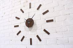 rustic clock | madeira rústica 2013 relógio de parede diy diy relógio de mesa moda ...