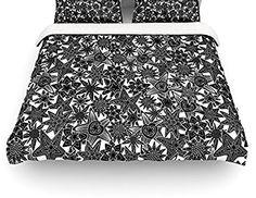 88 X 88 KESS InHouse Project M Geometric Queen Comforter