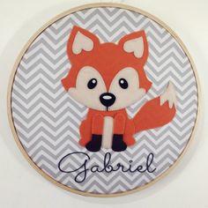 Fox Decor, Baby Decor, Woodland Nursery Decor, Woodland Baby, Elephant Mobile, Fox Party, Felt Puppets, Fox Drawing, E Craft