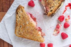 Raspberry Chipotle Bacon Grilled Cheese Sandwich. Sweet and smoky!