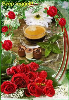 kávé Retro Hits, Good Morning Gif, Table Decorations, Christmas, Wallpapers, Night, Good Morning, Yule, Navidad
