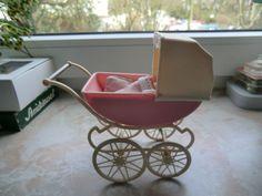Miniatur PUPPENWAGEN von Plasty 60/70ger Jahre