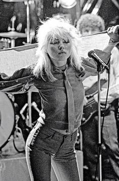 Debbie Harry, one of my favorite style icons and one of the most badass bitches around.