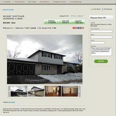sale NEW LISTING ONLY $54,000!#illinoisrealestate #homesforsale #realestate #realtor ...
