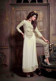 Latest Designer Semi Stitched Salwar Kameez  Size Available max upto 48 Inch/Bottom upto 2.25mtr/ Dupatta upto 2.25mtr Shipping Period- 7 to 20 days.