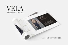Vela Brochure Template by SlideStation on @creativemarket