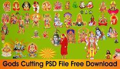 www.NaveenGFX.com: Gods PSD open file Free Download