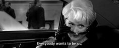 Everybody wants to be us.