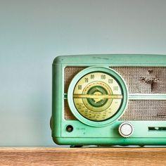 Vintage radios.