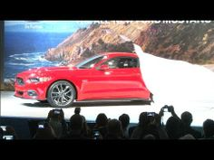 CJ Pony Parts' video coverage from the 2015 Mustang unveil in Dearborn, MI! #2015Mustang #Mustang