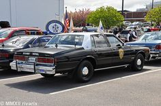 One of several classic law enforcement vehicles at the site. Police Vehicles, Emergency Vehicles, Old Police Cars, Old Cars, Detroit History, National Police, Chevrolet Caprice, Police Uniforms, Lowrider