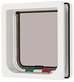 Cat Mate 4 Way Locking Cat Flap with Door Liner White ** Details can be found by clicking on the image. (Amazon affiliate link)