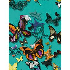 Buy Christian Lacroix for Designers Guild Butterfly Parade Wallpaper | John Lewis