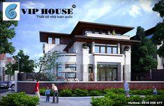Thiết kế nhà biệt thự 3 tầng 2 mặt tiền (2)