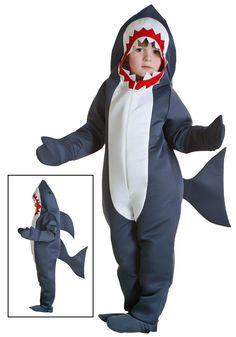 Little Boys' Shark Costume 2T