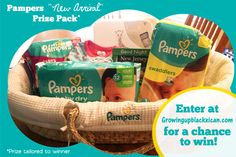 New Pampers Arrival + GIVEAWAY