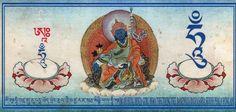 Guru Rinpoche medicine protector