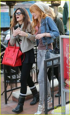 Bella Thorne and Kylie Jenner