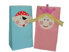 pirate and princess party bags