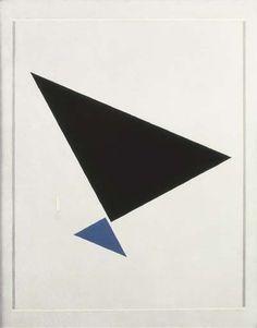 Artwork by Friedrich Vordemberge-Gildewart, Komposition No. 110A, Made of oil on canvas
