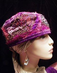 Текстильные шапочки Patchwork Gypsy Style. Обсуждение на LiveInternet - Российский Сервис Онлайн-Дневников