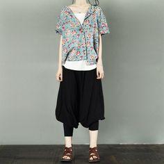 Flower T-shirt Women Tops LR698