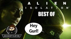 ALIEN ISOLATION (BEST OF) - Funny Moments Montage - Dodsworth Gaming